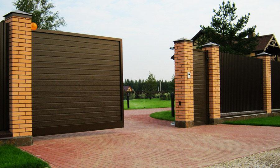 Автоматические ворота домой