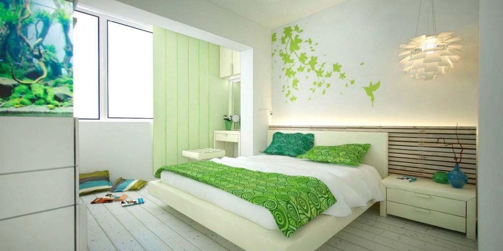 свежая комната