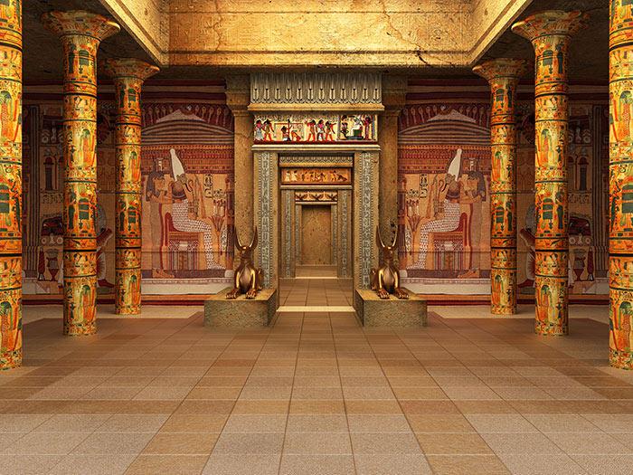 египетские храмы