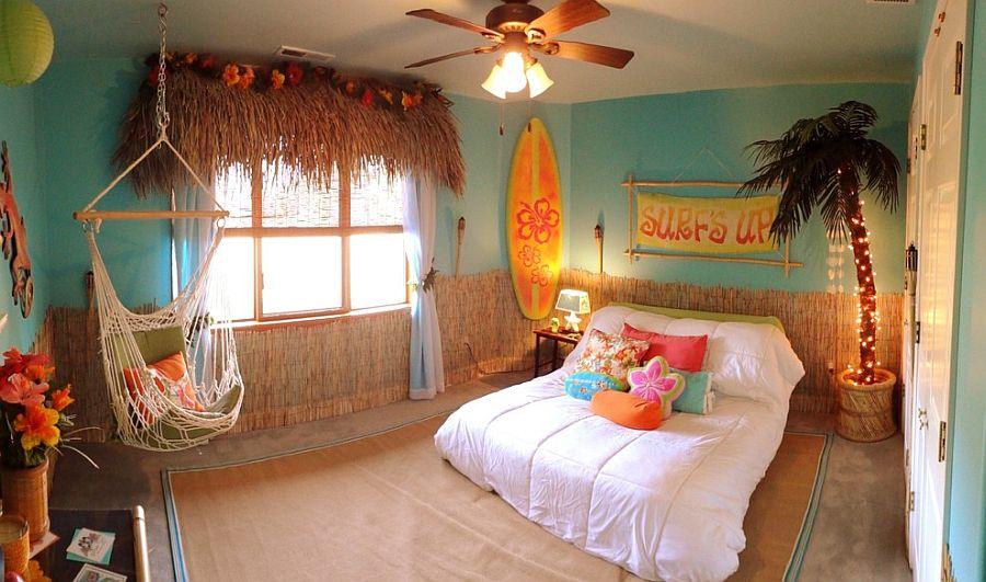гавайская комната в гостинице