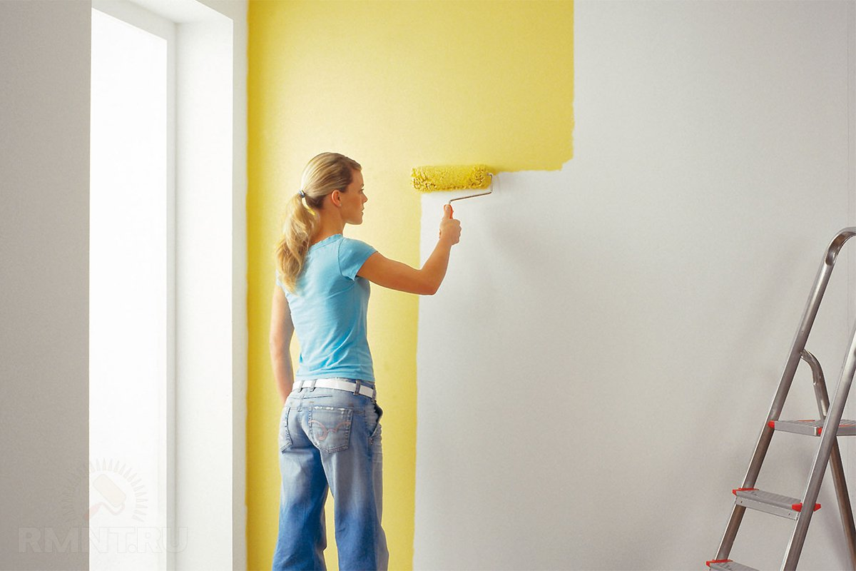 Краска для стен 75