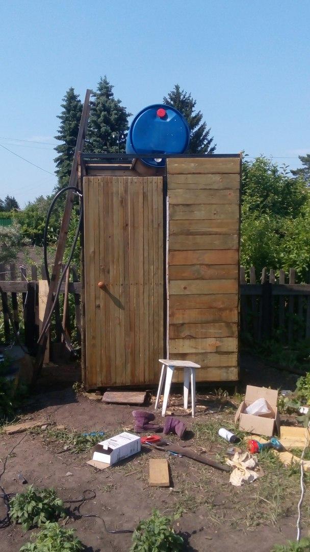 готовый дачный душ