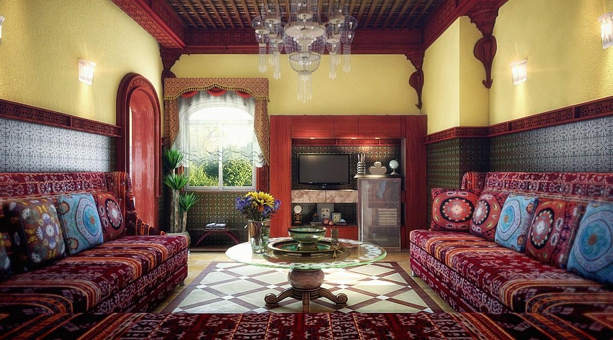 стиль марокко