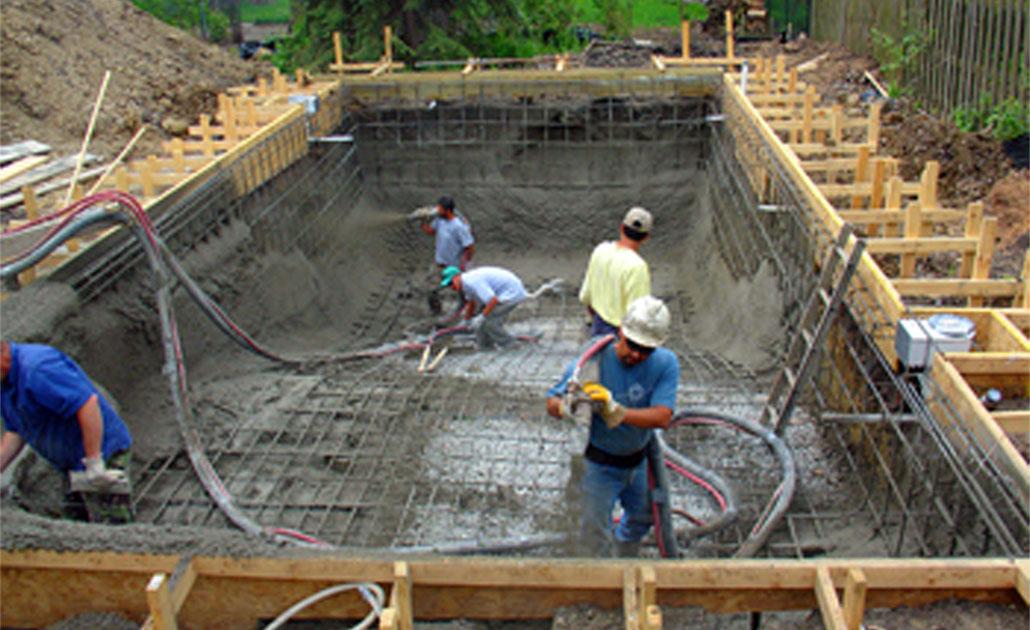 Бассейн строительство своими руками