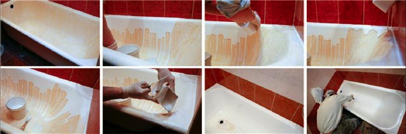 Реставрация ванной мебели своими руками 34