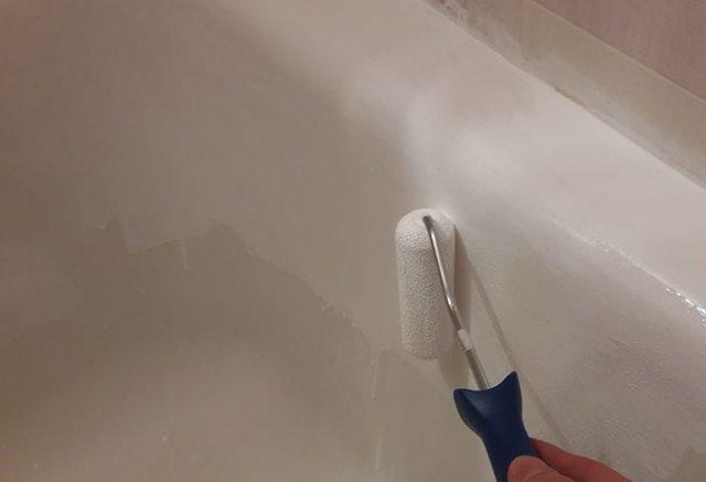 Реставрация чугунной ванны своими руками.