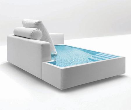 водяной прозрачный матрас