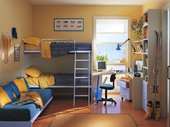 Детская комната для трех девочек