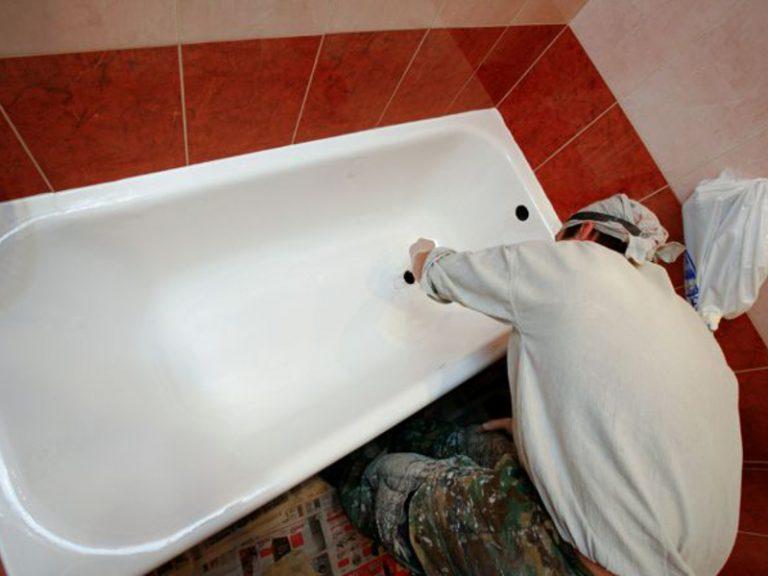 Как своими руками отремонтировать чугунную ванну своими руками