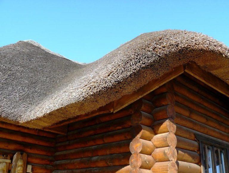 Крыша своими руками из тростника
