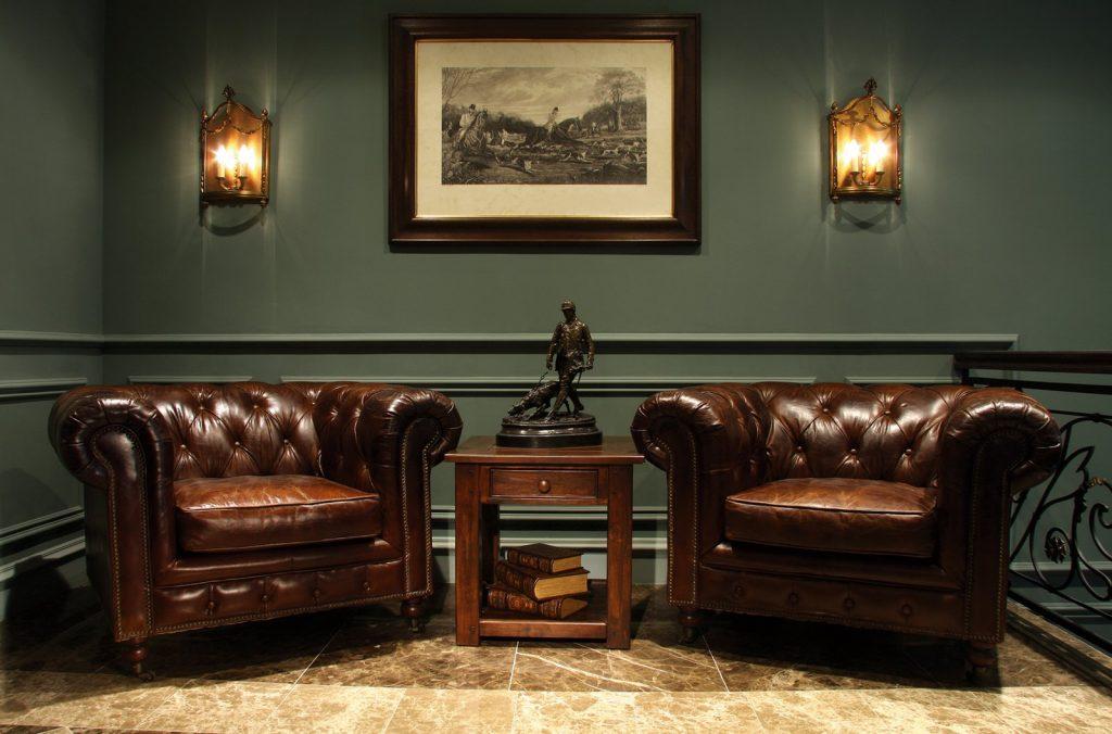 Мебель в английском интерьере
