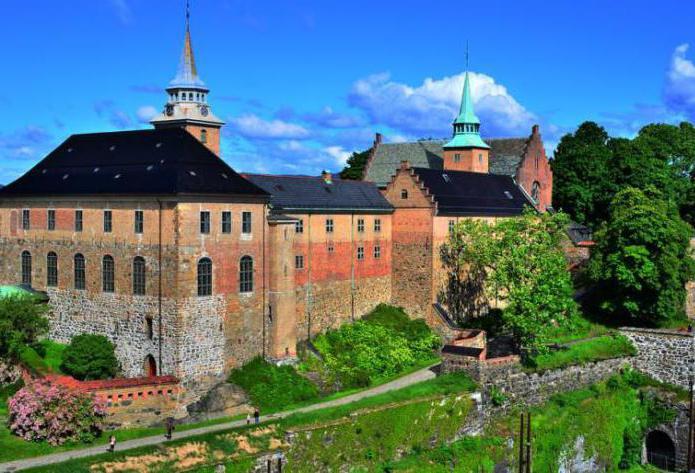 Акерсхус крепость в Норвегии