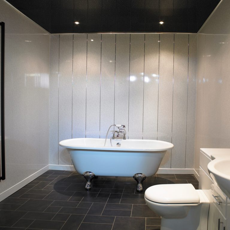 Bathroom paneling