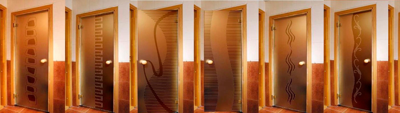 двери в сауну