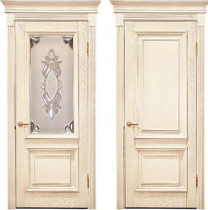 белые мягкие двери