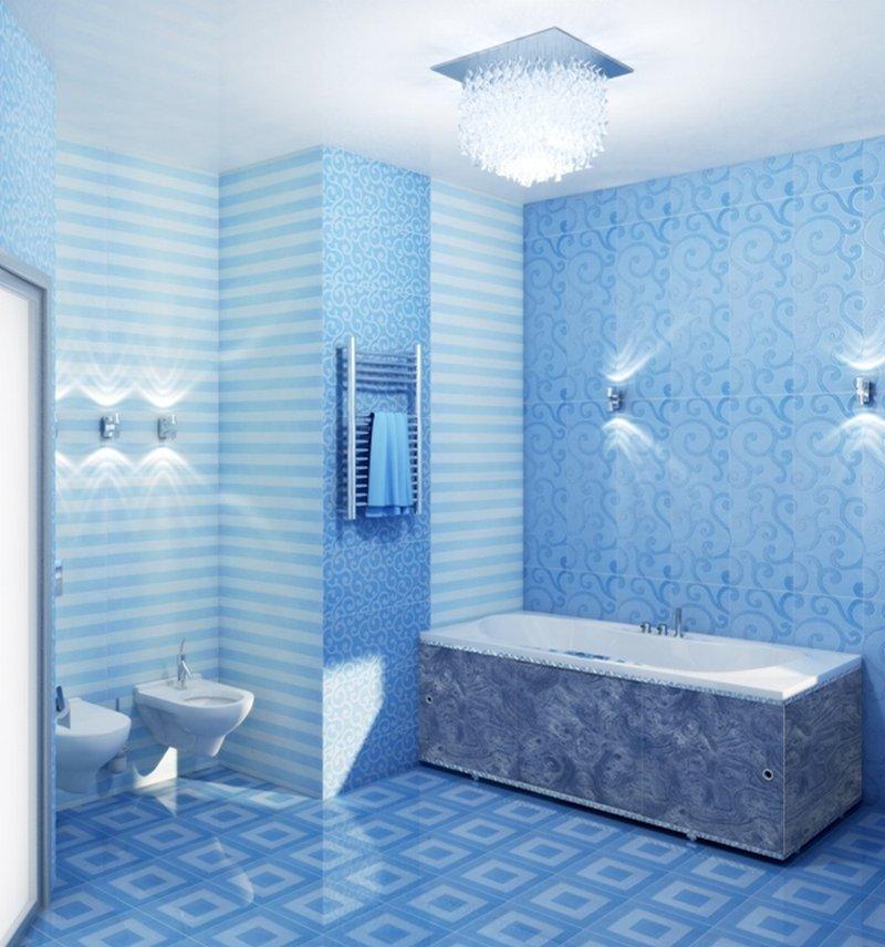 Небесная ванная комната