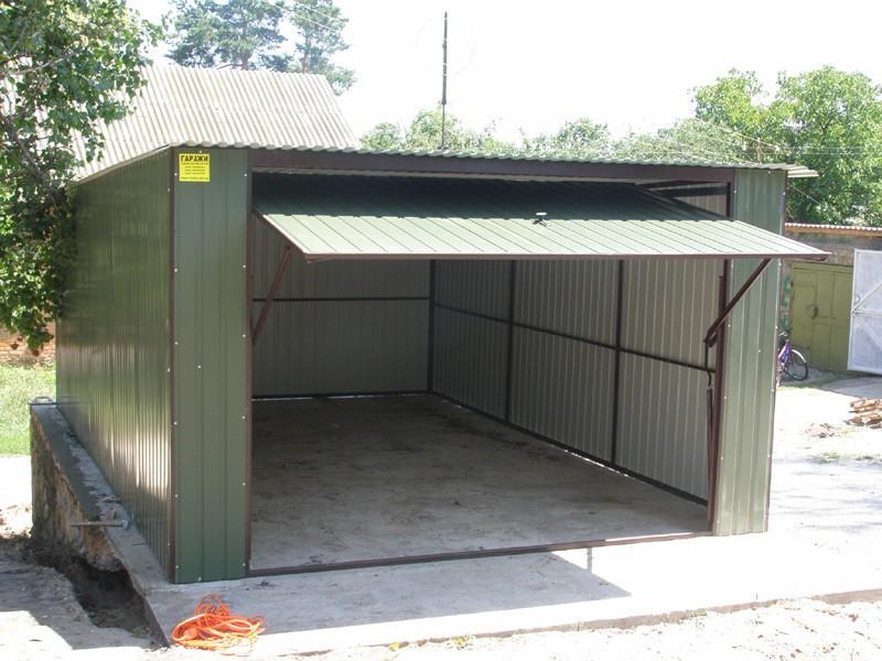 Построить гараж из металла