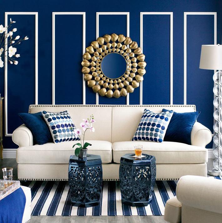 теплых картинки на стену для интерьера в синем что покупки
