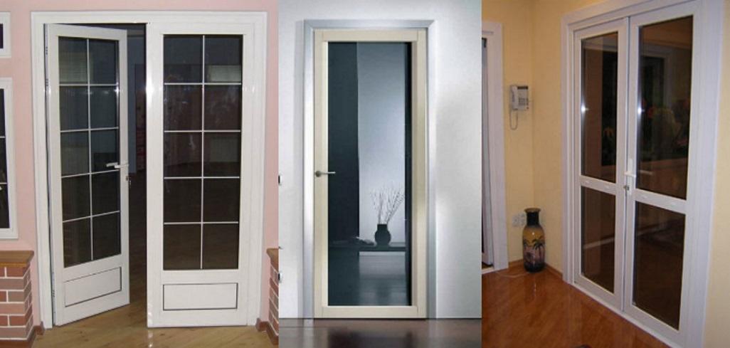 Пластиковая двери