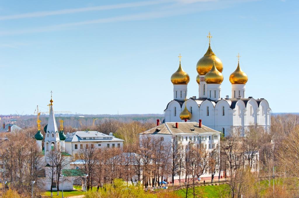 Ярославль церкви
