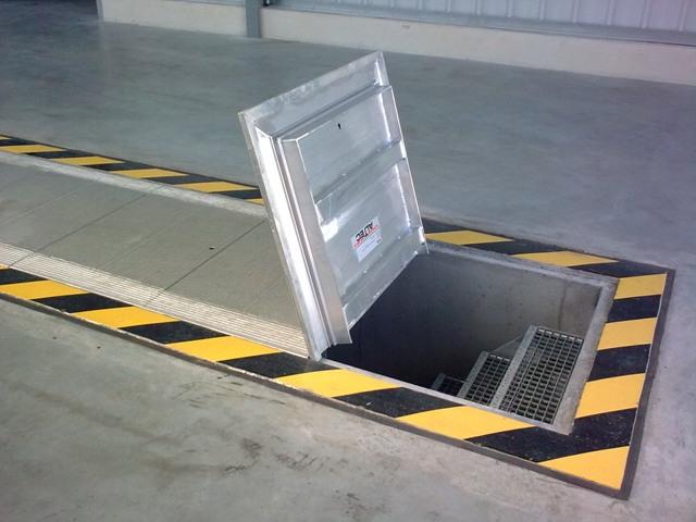 крышка для ямы в гараже