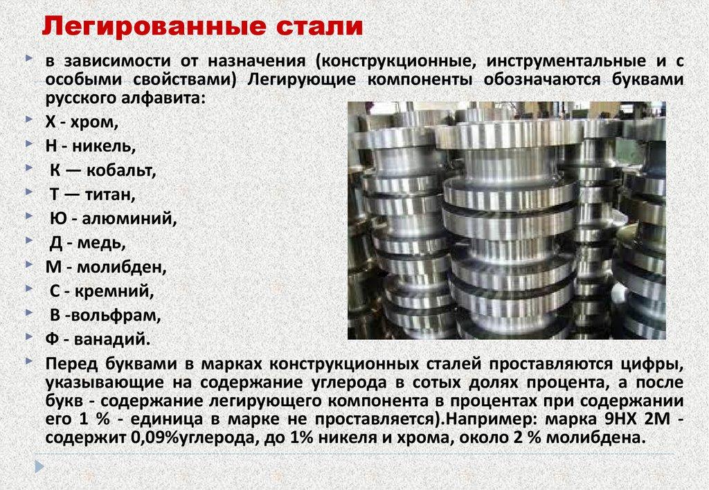 сталь легированная