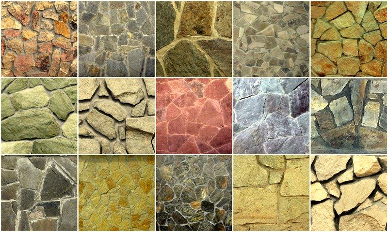 Типы песчаника