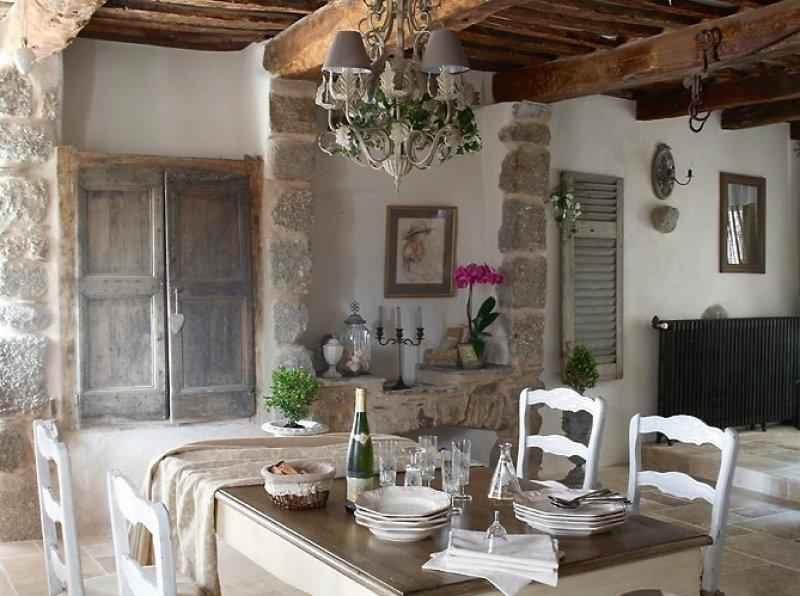 кухня в стиле шато