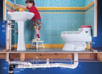 устранить запах канализации в доме