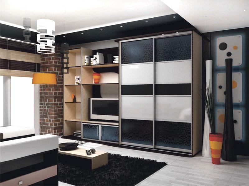 Преимуществовстроенной мебели