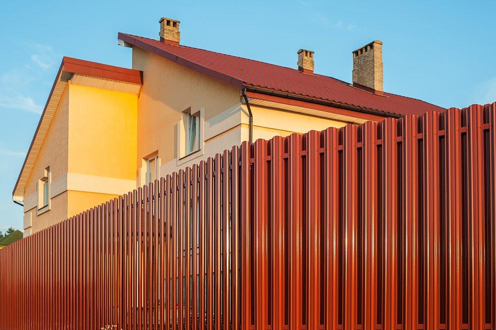 забор - штакетник