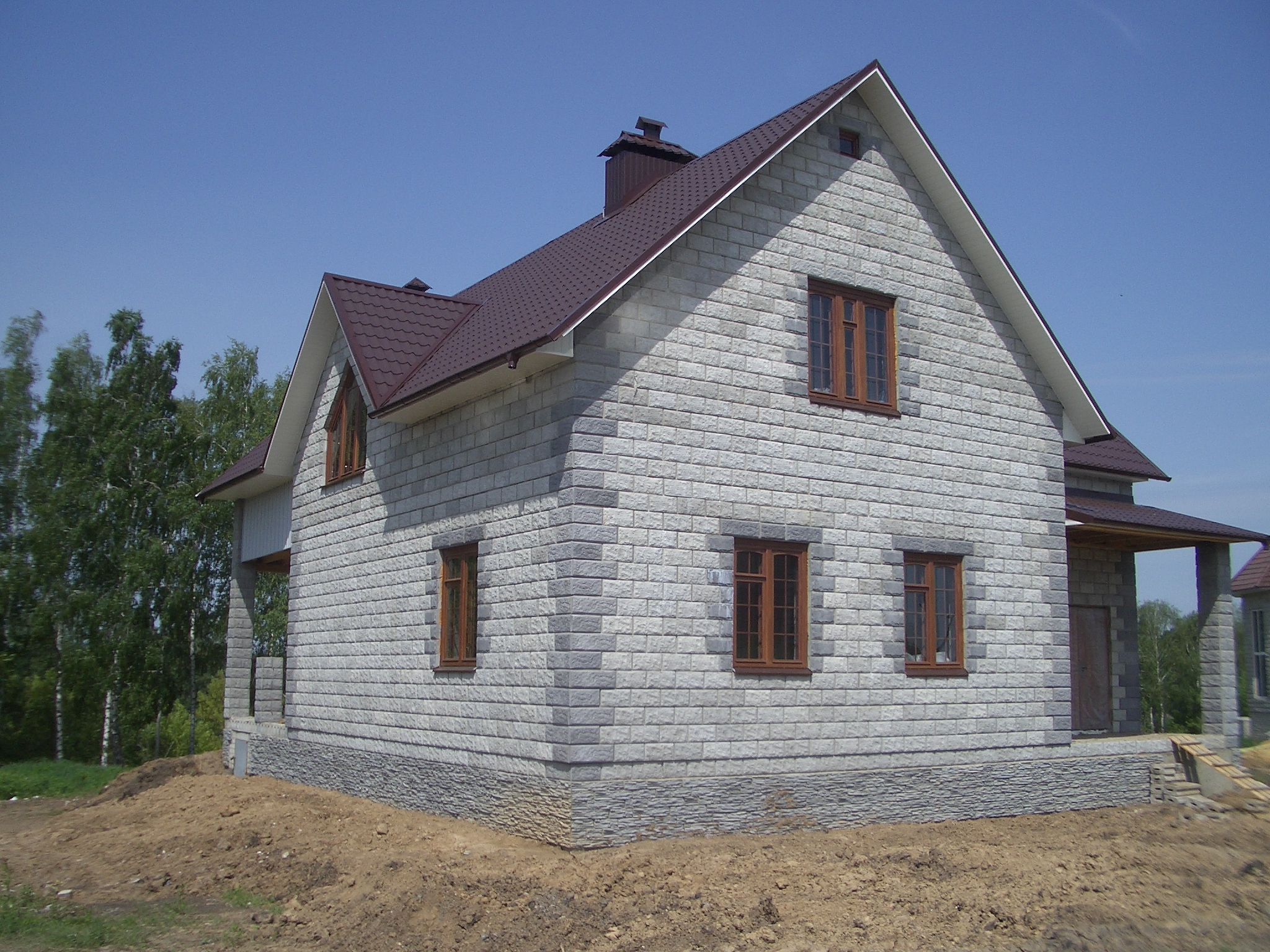 Пеноблоки дом
