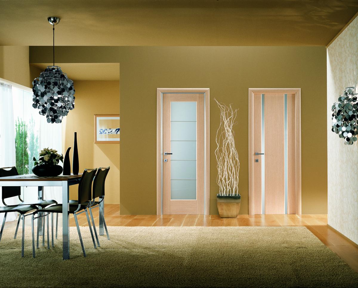 Деревянные двери для комнаты