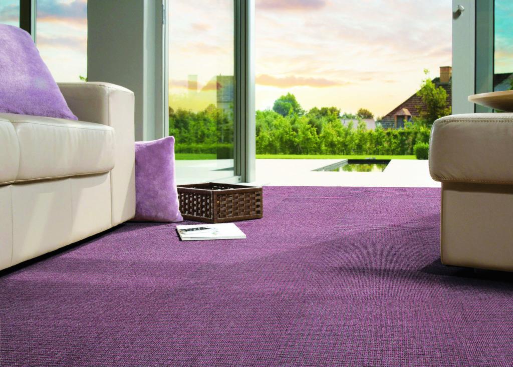 Фиолетовый ковролин