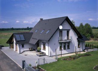 Крыша частного дома