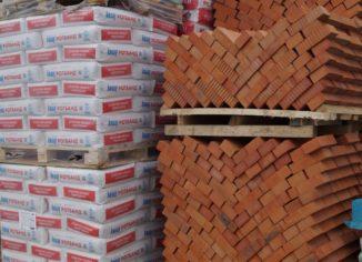 Хранение строительных материалов