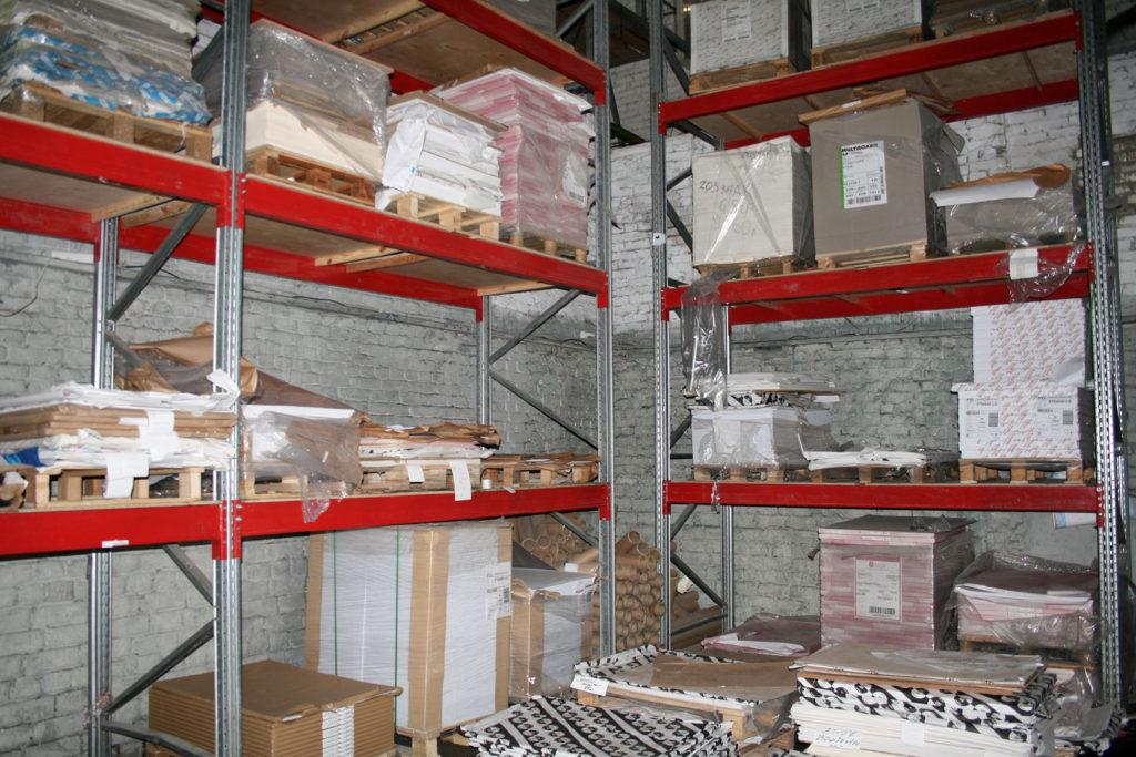 Хранение стройматериалов