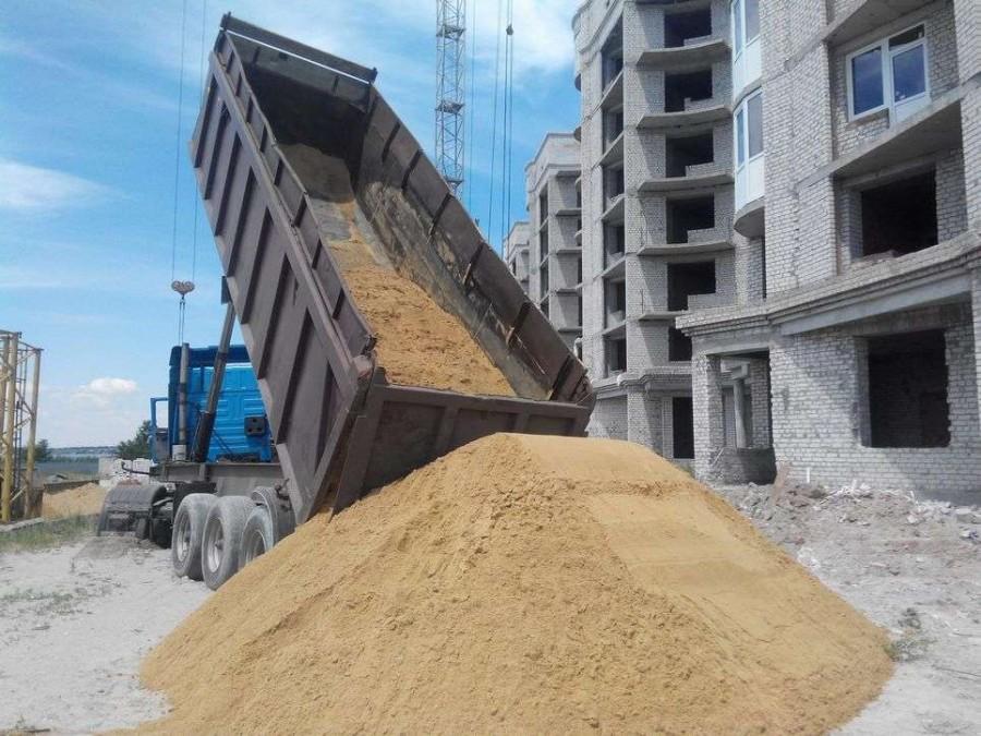 Хранение песка