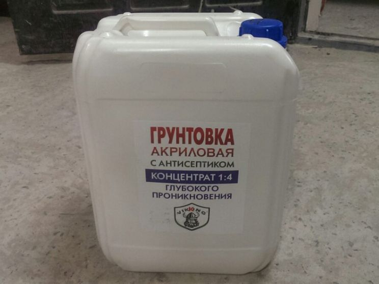 антибактериальная грунтовка